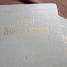 TRATAT DE TEORIE A MUZICII (2 volume) - Carte Arta muzicala