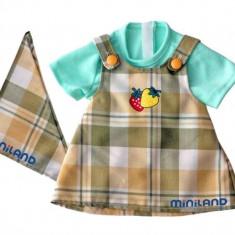 Sarafan Si Bluza Papusi 32 Cm Miniland - Papusa
