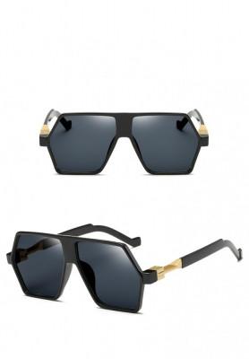 Ochelari De Soare Retro / Aviator Supradimensionati - Protectie UV 100% - 1 foto
