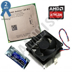 Procesor AMD Athlon 64 X2 5600+ 2.9GHz Dual Core Socket AM2 + Cooler + GARANTIE! - Procesor PC AMD, AMD Athlon II, Numar nuclee: 2, 2.5-3.0 GHz