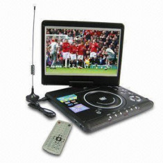 TELEVIZOR COMBO PORTABIL 12, 5 INCH SONILEX, DVD, STICK USB, CONSOLA JOCURI, GAME.NOU - Televizor LED, Sub 48 cm, HD Ready, USB: 1, Intrare RF: 1, Scart: 1