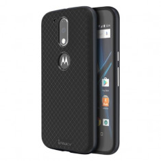 HUSA IPAKY MOTOROLA G4 - BONUS FOLIE ECRAN - Husa Telefon Motorola, Universala, Gri, Gel TPU