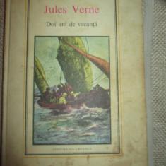 Doi ani de vacanta - Jules Verne - Carte de aventura