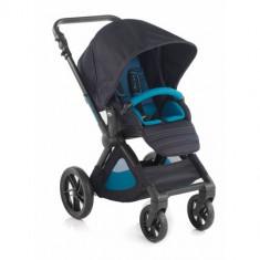 Carucior Sport Muum Negru cu Albastru - Carucior copii 2 in 1 Jane