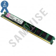 Memorie Kingston 2GB, DDR2, PC2-6400, 800MHz, Slim pc desktop GARANTEI 2 ANI !!! - Memorie RAM