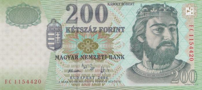 Ungaria 200 Forint 2006-Noua