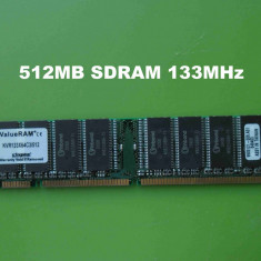 Memorie RAM PC SDRAM 512MB PC133 Kingston