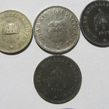 Austro-Ungaria (Imp Austro-Ungar)(6)- 10 filler 1916, 20 filler 1916, 1917, 1918, Europa
