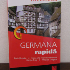 GERMANA RAPIDA.DORIS MOEGLIN... - Carte in alte limbi straine