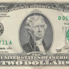 USA 2 Dolari - bancnota america