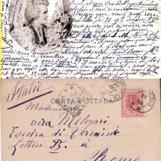 Casa regala-Regina Elisabeta -Carmen Sylva- rara, Circulata, Printata