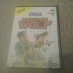 Operation Wolf - SEGA Master System - Jocuri Sega, Arcade, 3+, Single player