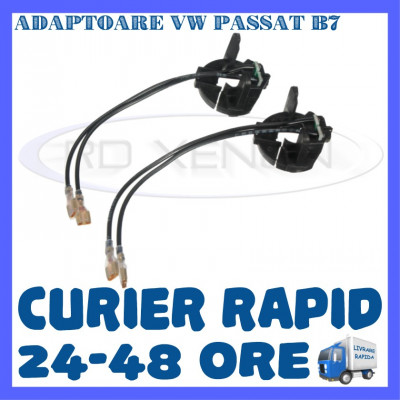 SET ADAPTOARE BEC XENON H7 VW PASSAT B7 foto