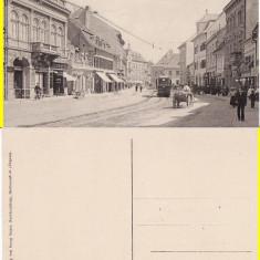 Sibiu, Hermannstadt- tramvai,  rara, Necirculata, Printata
