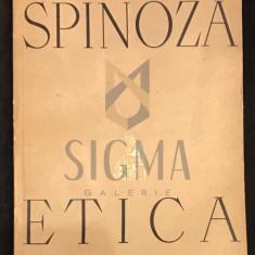 SPINOZA - ETICA, 1957 - Filosofie