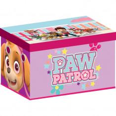 Cutie pentru depozitare jucarii Paw Patrol Girl - Sistem depozitare jucarii