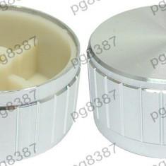 Buton pentru potentiometru, 40mm, aluminiu, 40x17mm - 127511