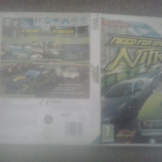 Need for Speed Nitro - NFS - Wii - Jocuri WII, Curse auto-moto, 12+, Multiplayer