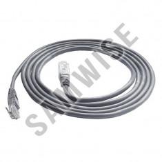 *** NOU *** Cablu UTP cu mufe, lungime 5m - Cablu retea