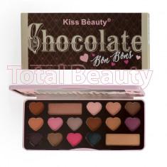Trusa Farduri Kiss ChocolateBonBons - Trusa make up
