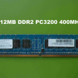 Memorie RAM PC DDR2 512MB PC4200 533MHz Nanya