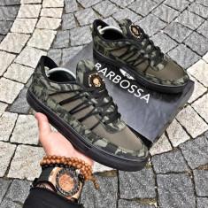 Pantofi sport Hexagon Camo Green - Adidasi barbati, Marime: 41, 42, 43, Culoare: Din imagine, Textil
