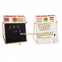 Tabla Magnetica Dubla Educativa Pentru Copii 64x45cm M