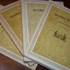 L. N. TOLSTOI - RAZBOI SI PACE ( editie de colectie, cu ilustratii ) *