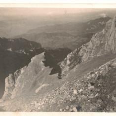 Bucegi - Peisaje montane - lot 6 carti postale - interbelice, Necirculata, Fotografie, Romania 1900 - 1950