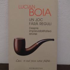 UN JOC FARA REGULI-LUCIAN BOIA - Carte Istorie
