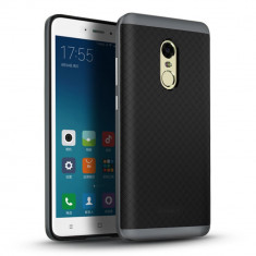 HUSA IPAKY XIAOMI REDMI NOTE 4 - BONUS FOLIE ECRAN - Husa Telefon Xiaomi, Universala, Gri, Gel TPU