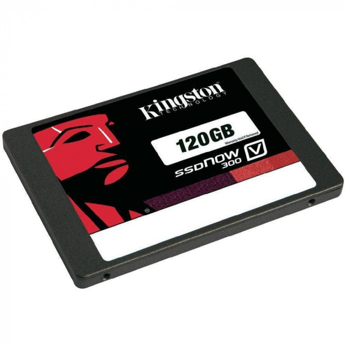 SSD Kingston V300 Now 120GB SATA-III foto mare