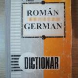 DICTIONAR ROMAN - GERMAN de E. SAVIN, I. LAZARESCU, K. TANTU, Bucuresti 1995 - Carte in alte limbi straine