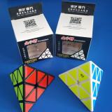 Cub Rubik QiYi QiMing A Pyraminx 95mm Profesional - Jocuri Logica si inteligenta