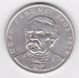 Ungaria 200 Forint 1994 (Deák Ferenc) Argint 12 g/500, MV1 , 32 mm KM-707