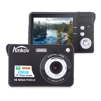 Resigilat : Camera foto digitala PNI Amkov CDC3 18MP display LCD 2.7 inch foto