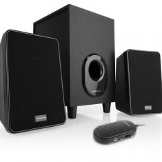Sistem audio 2.1 Modecom MC-S1 black - Boxe PC