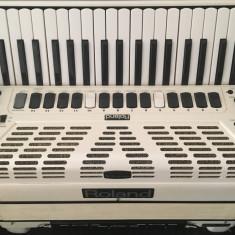 Acordeon Roland Fr7X White