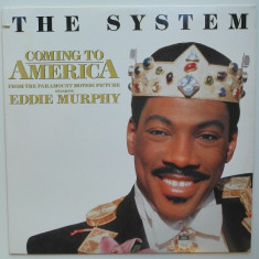 The System - Coming To America (Eddie Murphy) disc vinil Maxi Single disco - Muzica soundtrack