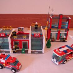 Joc LEGO statie de pompieri - Set de constructie