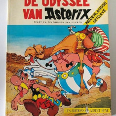 Revista benzi desenate Asterix si Obelix, in olandeza, Odiseea lui Asterix, 1981 - Reviste benzi desenate