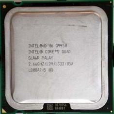 Procesor PC SH Intel Core 2 Quad Q9450 SLAWR 2.667 Ghz 6M LGA 775, Numar nuclee: 4