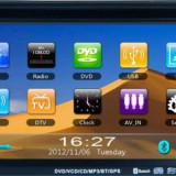 DVD Auto NAVIGATIE 2DIN GPS BLUETOOTH USB - Navigatie auto Macrom, Universal