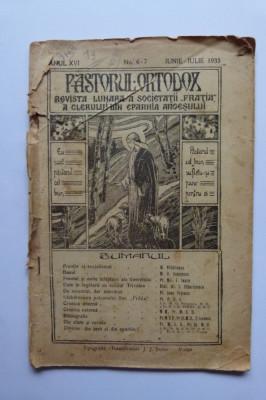 REVISTA PASTORUL ORTODOX, EPARHIA ARGESULUI, PITESTI, 1935 foto