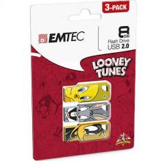 Memorie USB Emtec M750 Looney Toons LT01 P3 8GB USB 2.0 - Stick USB