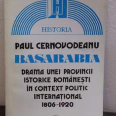 Paul Cernovodeanu -BASARABIA Drama unei provincii romanesti - Istorie