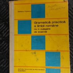GRAMATICA PRACTICA A LIMBII ROMANE CU O CULEGERE DE EXERCITII POPESCU - Culegere Romana