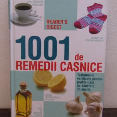 1001 DE REMEDII CASNICE - Carte tratamente naturiste