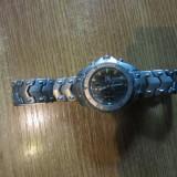 Fossil titanium - Ceas barbatesc Fossil, Quartz