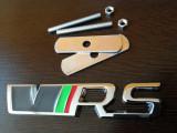 Emblema pentru grila VRS auto SKoda rs  metalica Accesoriu  accesorii incluse
